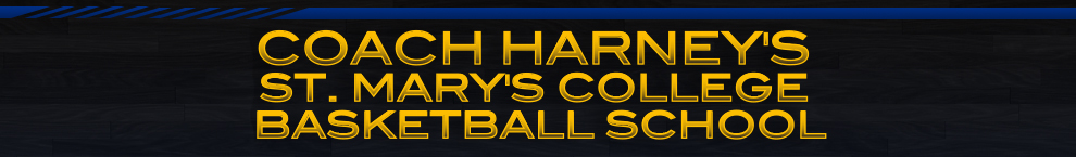 Coach Harney Basketball School